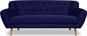 Dvoumístná tmavě modrá pohovka cosmopolitan design london