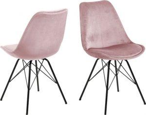 Jídelní růžová jídelní židle actona eris - židle na SEDI.cz