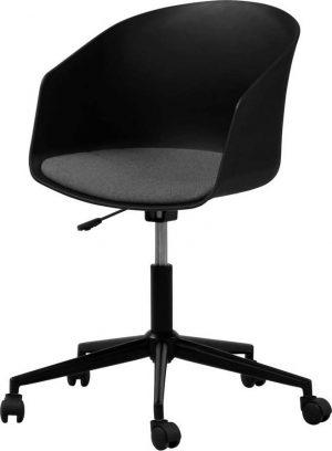černá kancelářská židle na kolečkách interstil moon - židle na SEDI.cz