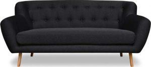 Dvoumístná antracitově šedá pohovka cosmopolitan design london