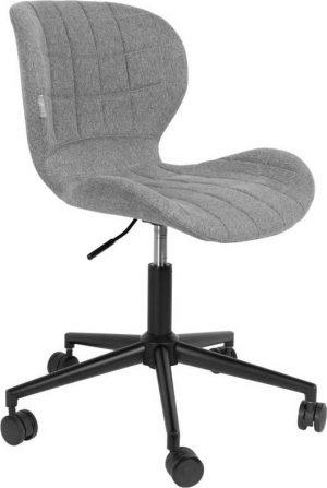 šedá kancelářská židle zuiver omg - židle na SEDI.cz