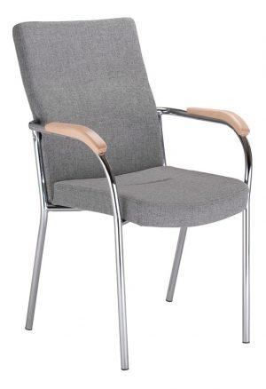 Nowy styl loco ii wood arm konferenční židle - židle na SEDI.cz