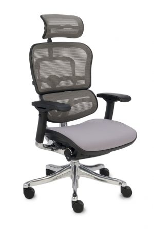 Grospol ergohuman plus elite bt kancelářská židle šedá - židle na SEDI.cz