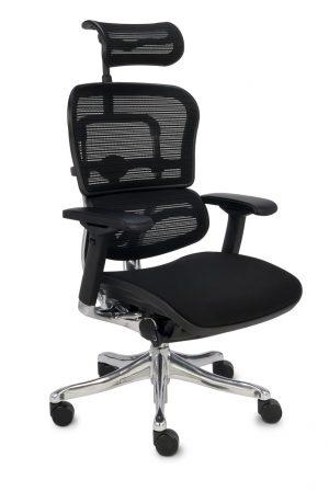 Grospol ergohuman plus elite bt kancelářská židle černá - židle na SEDI.cz