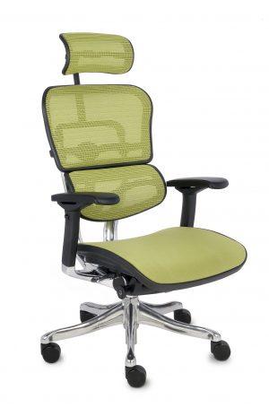 Grospol ergohuman plus elite bt kancelářská židle zelená - židle na SEDI.cz