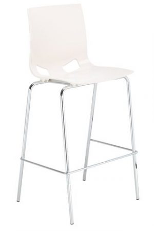 Nowy styl fondo pp hocker barová židle plast červená - židle na SEDI.cz