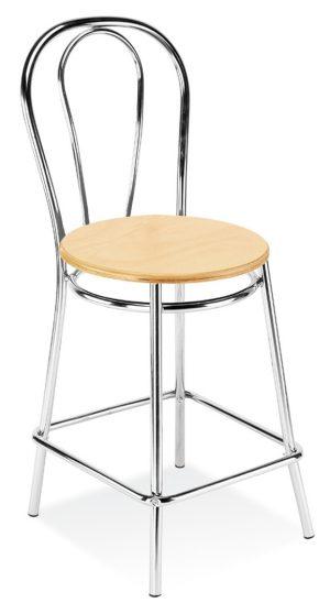 Barová židle tulipan wood 78 - židle na SEDI.cz