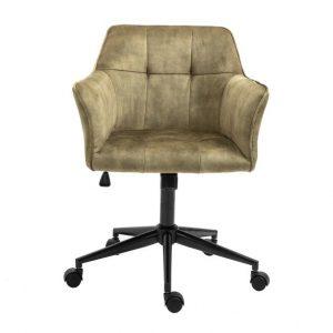 Kancelářská židle kipper olivová/černá - židle na SEDI.cz