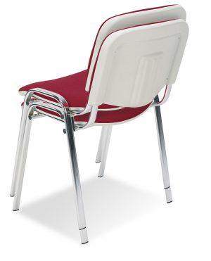 Nowy styl iso bianco chrome konferenční židle - židle na SEDI.cz