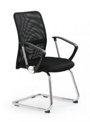 Halmar konferenční síťovaná židle vire skid