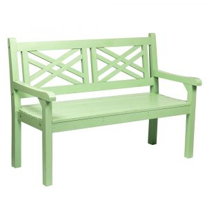 Dřevěná zahradní lavička fabla