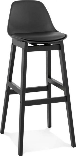 černá barová židle kokoon turel