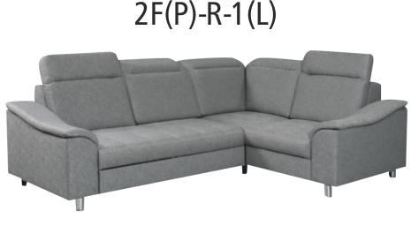 Moderní rohová rozkládací sedací souprava s úložným prostorem. sedáky jsou vyplněny vysokoelastickou pěnou na pružině vlnovec