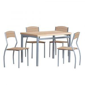 Set stůl a židle tempo kondela jídelní set amanda