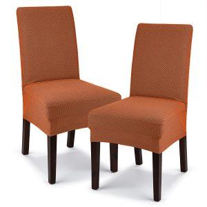 4Home Multielastický potah na židli Comfort terracotta