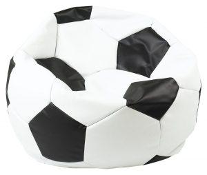 Antares sedací pytel euroball bílá/černá - pytle a vaky na SEDI.cz